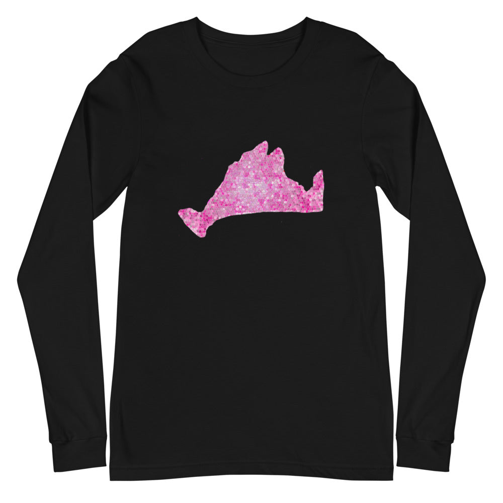 Long Sleeve-Pink Pixels