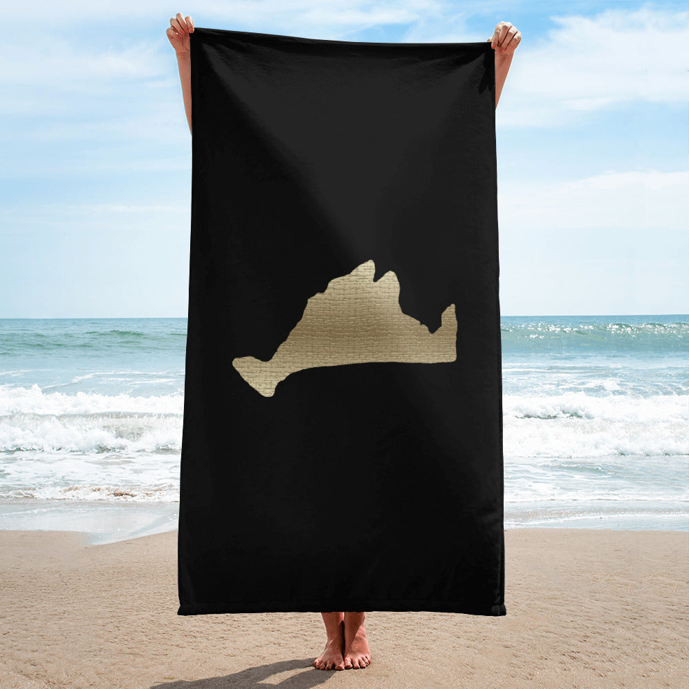 Limited Edition Towel-Golden