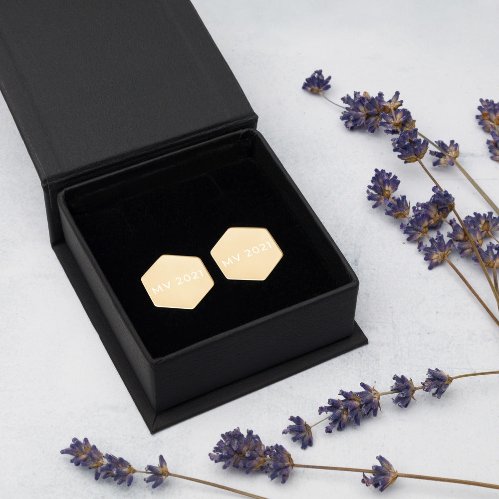 MV 2021 Hexagon Stud Earrings
