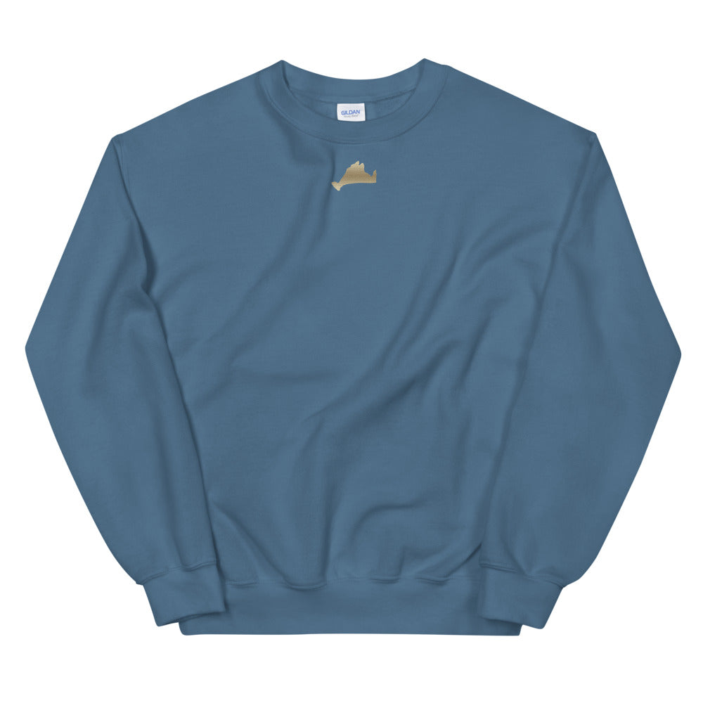 Golden Crewneck Sweatshirt