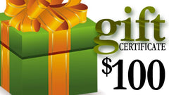 $100 Gift Certificate for DARC Shopping Center