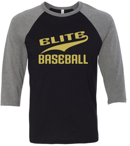 Elite Baseball 3/4 shirt