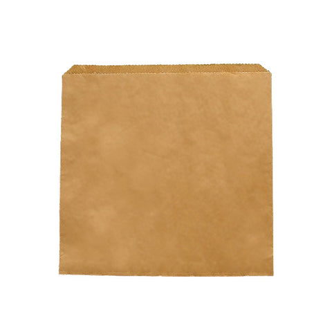 Vegware 10 x 10 flat food paper bag X 1000