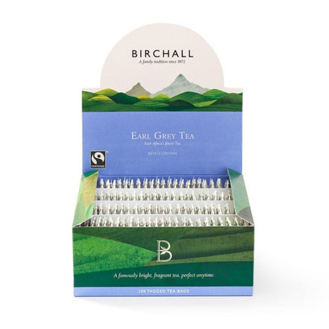 Birchall Earl Grey Stringed & Tagged x 100 (4438109847640)