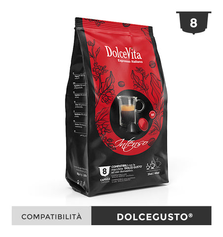Dolce Gusto Coffee Pods. Dolce Vita Italian Intenso