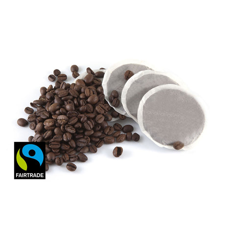 Fairtrade Single Decaf Espresso ESE Coffee Pods 100 x 7g (4438115745880)