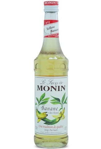 Monin Banana Syrup x 70cl (4438136389720)