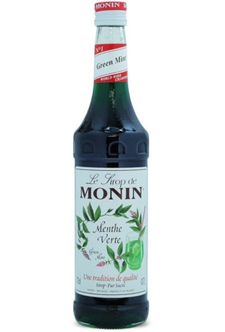 Monin Greenmint Syrup x 70cl (4438137897048)