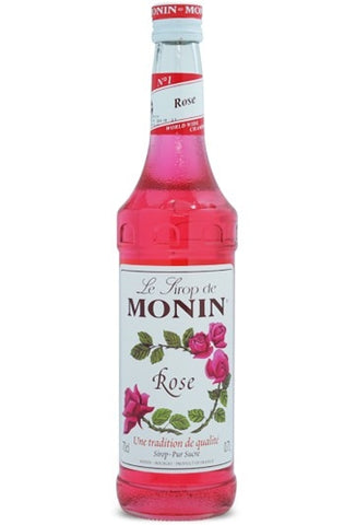 Monin Rose Syrup x 70cl (4438139175000)