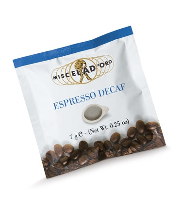 Miscela D'Oro Decaff Coffee Pods 150 x 7g (4438121807960)