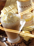 Monin White Chocolate Syrup x 70cl (4438139633752)