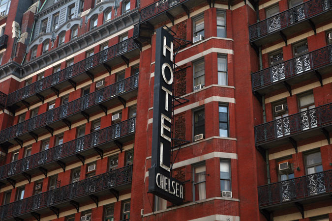 The Chelsea Hotel New York City