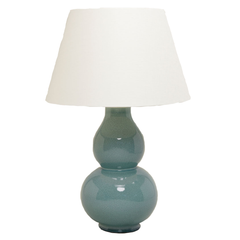 Avebury Table Lamp in duck egg blue