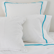 Bed Linen Set: Cayman Blue with Pillow