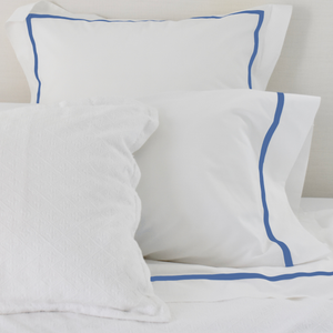 Promo: Bed Linen Set Cobalt Blue (2) with FREE Pillow