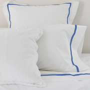 Promo: Bed Linen Set Cobalt Blue (3) with FREE Pillow