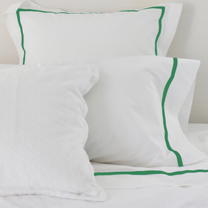 Bed Linen Set: Kelly Green