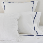 Bed Linen Set: Navy with Pillow