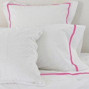 Bed Linen Set: Orchid Pink with Pillow