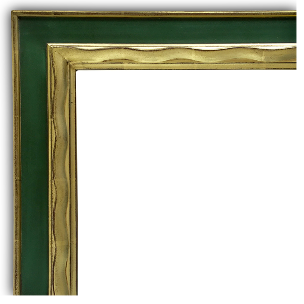 hand carved gold gilded frame for mirror