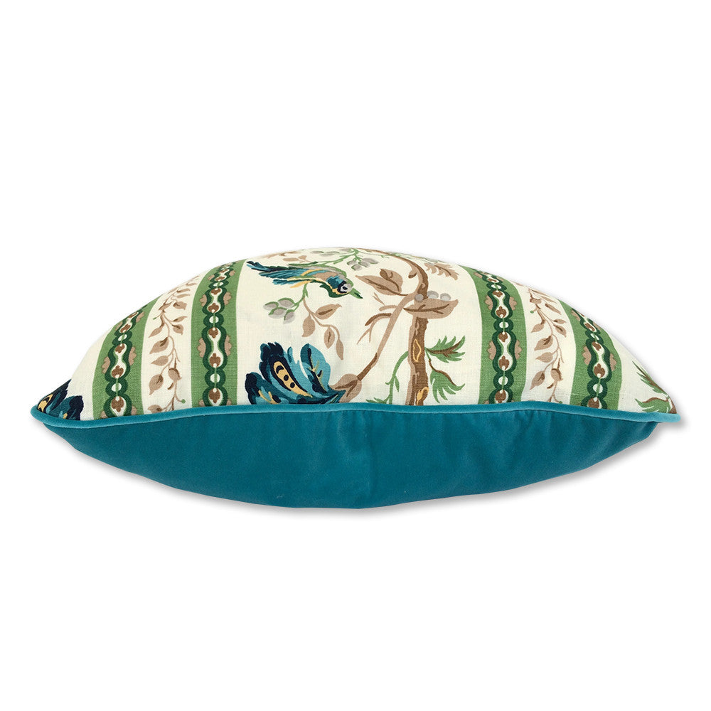 Le Jardin Chinois Brunschwig: Le Jardin Chinois Throw Pillow