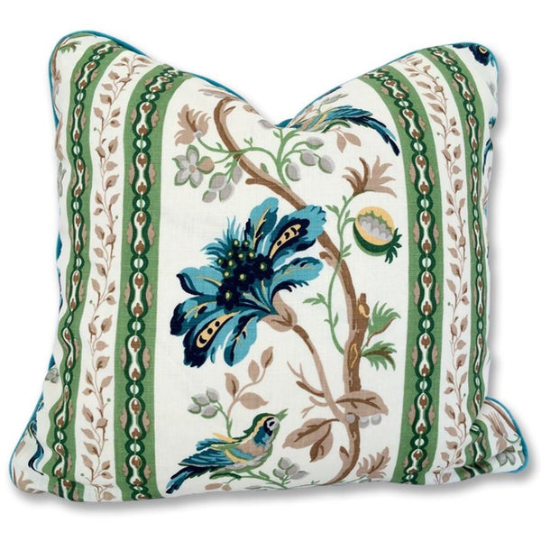Le Jardin Throw Pillow