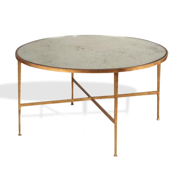 gold gilt coffee table