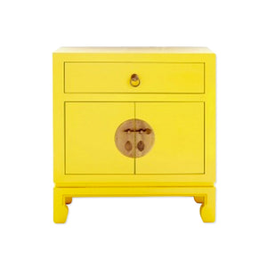 Sunflower colored side cupboard