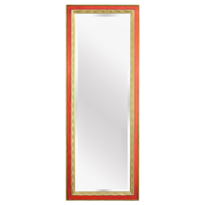 Picasso Hand Carved Gold Gilded Mirror [Coral]