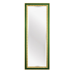 full length mirror in hand carved gold gilded frame