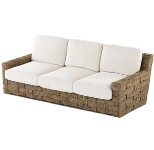 hand woven palm rope sofa
