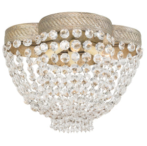 ceiling light fixture with crystal