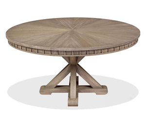 Landy Dining Table in Grey Driftwood