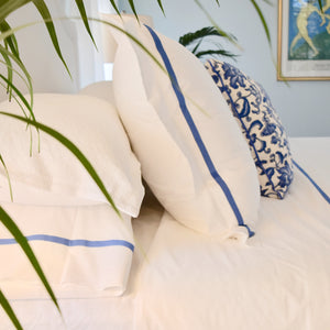 Bed Linen Set: Cobalt Blue