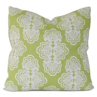 throw pillow with lilly pulitzer shell we pattern fabric
