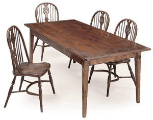 french farm table with chairs