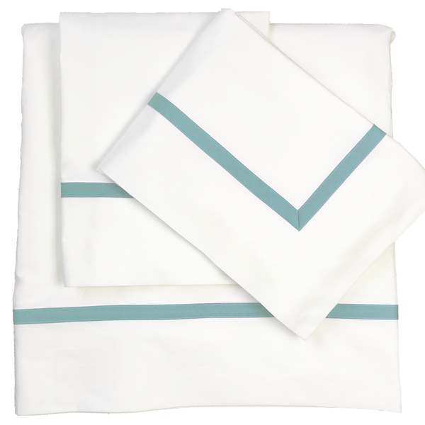 Bed Linen Set: Sea Green