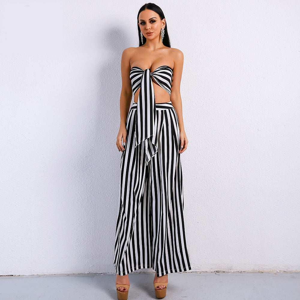 Black and White 2 Piece Set