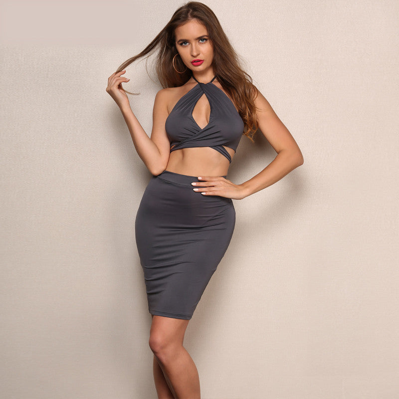 'Arlene' Grey 2 Piece Set