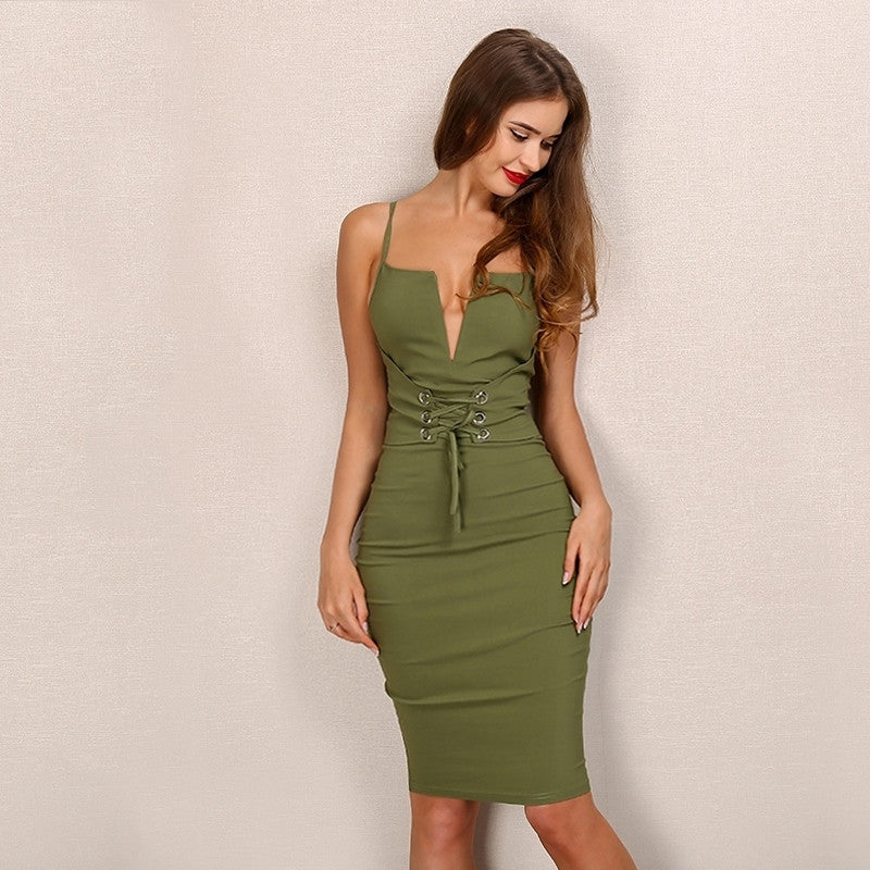 'Aberdeen' Green Dress
