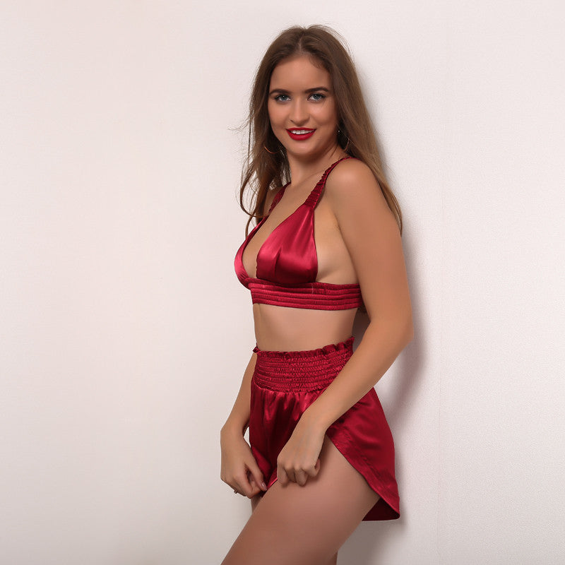 'Alisa' Red 2 Piece Set