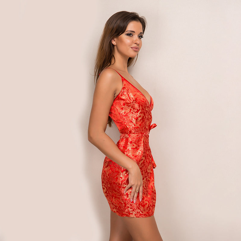 'Shyla' Red Dress
