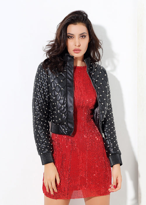 Black Patent Leather Jacket
