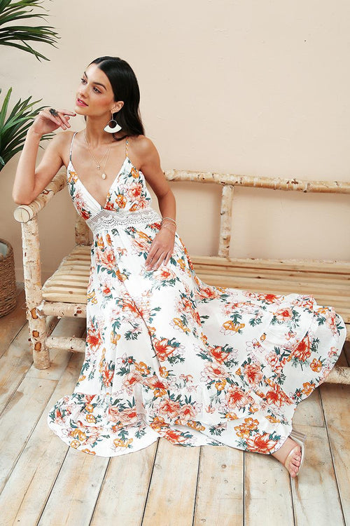 Coast Line Maxi Dress Duo