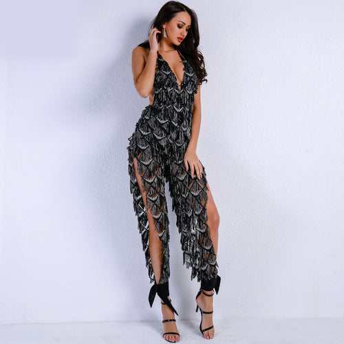 Ruffle Away Jumpsuit Duo
