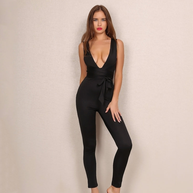 'Bobbi' Black Jumpsuit