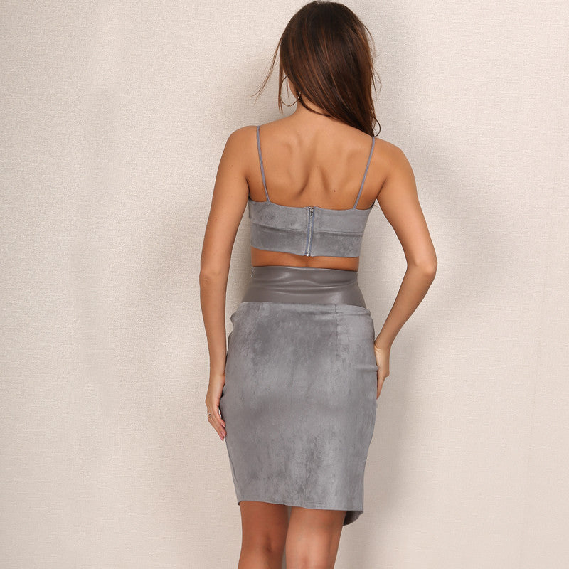 'Ballennia' Grey 2 Piece Set