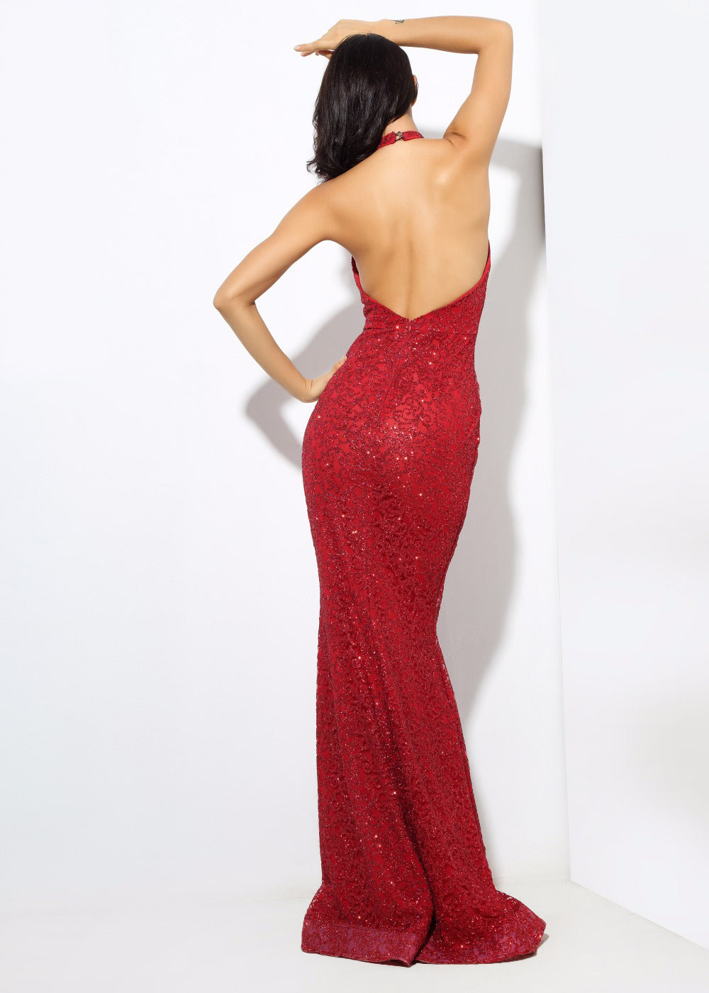 'Anguilla' Red Maxi Dress
