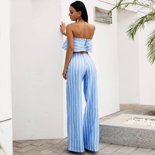 'Juliana' Blue 2 Piece Set