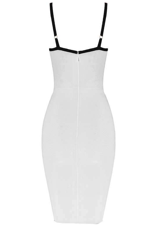 'Azuka' White Bandage Dress